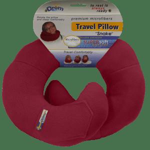 Подушка для путешествий Бордовый (11003)