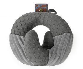 Подушка DROM Luxury Змейка для путешествий Серый (10301)
