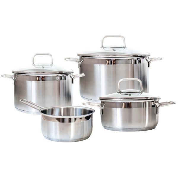 Набор посуды Swiss Diamond Premium Steel SD (SETL4)