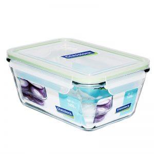 Пищевой контейнер прямоугольный Glasslock 1.65 л (MCRW-165)