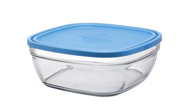 Пищевой контейнер Duralex Lys Carre квадратный 3.1 л 23 см (9024AM06)