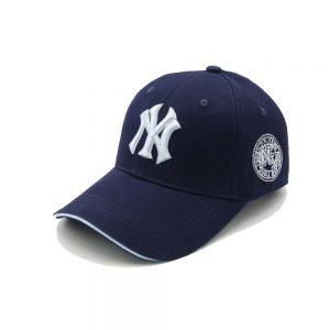 Кепка бейсболка NY Cap 1 (New York) 55-61 см синяя хлопок (333332)