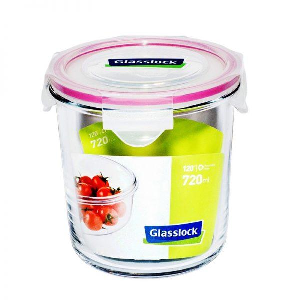 Пищевой контейнер круглый Glasslock 720 мл (MCCD-072)