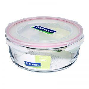 Пищевой контейнер круглый Glasslock 2.09 л (MCCB-205)