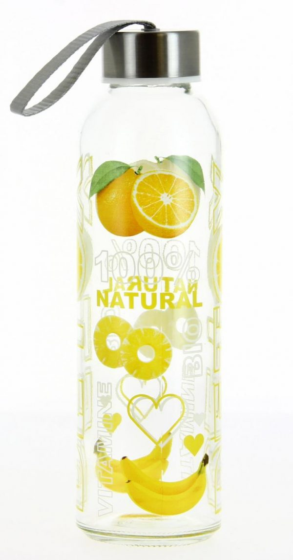 Бутылка для воды Cerve Detox 500 мл Желтая (S23370-Y)