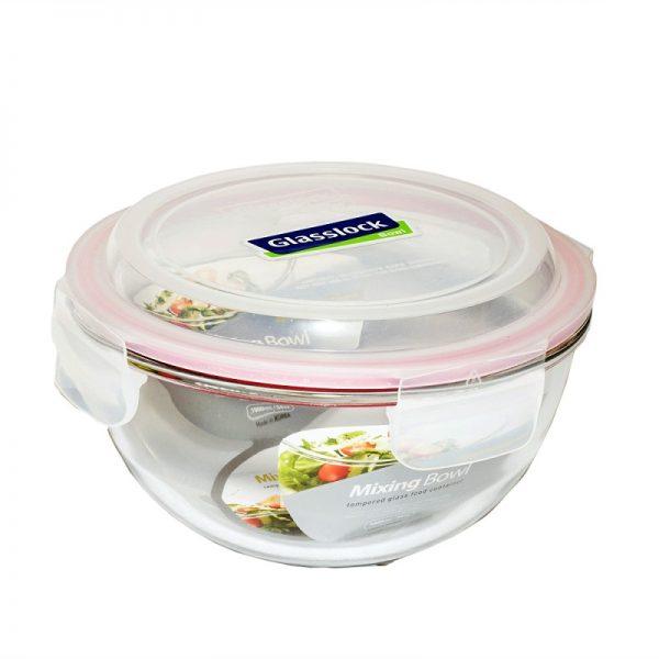 Пищевой контейнер круглый Glasslock 4.0 л (MBCB-400)