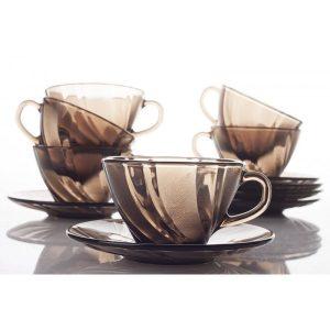 Чайный сервиз Duralex Beau Rivage Creole 12 предметов (9005CS12)
