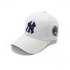 Кепка бейсболка NY Cap 1 (New York) 55-61 см белая хлопок (333333)