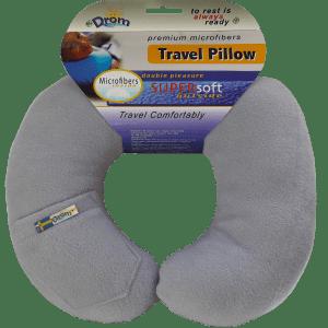 Подушка DRÖM для путешествий Светло-серый (12002)