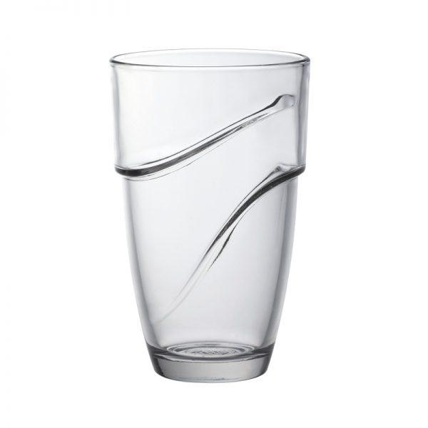 Набор высоких стаканов Duralex Wave 360 мл 4 шт (1054AC04)