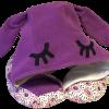 Подушка Organic Toys для путешествий с капюшоном Фиолетовый (20202)