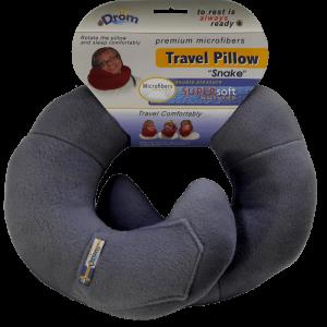 Подушка для путешествий Темно-серый (11001)