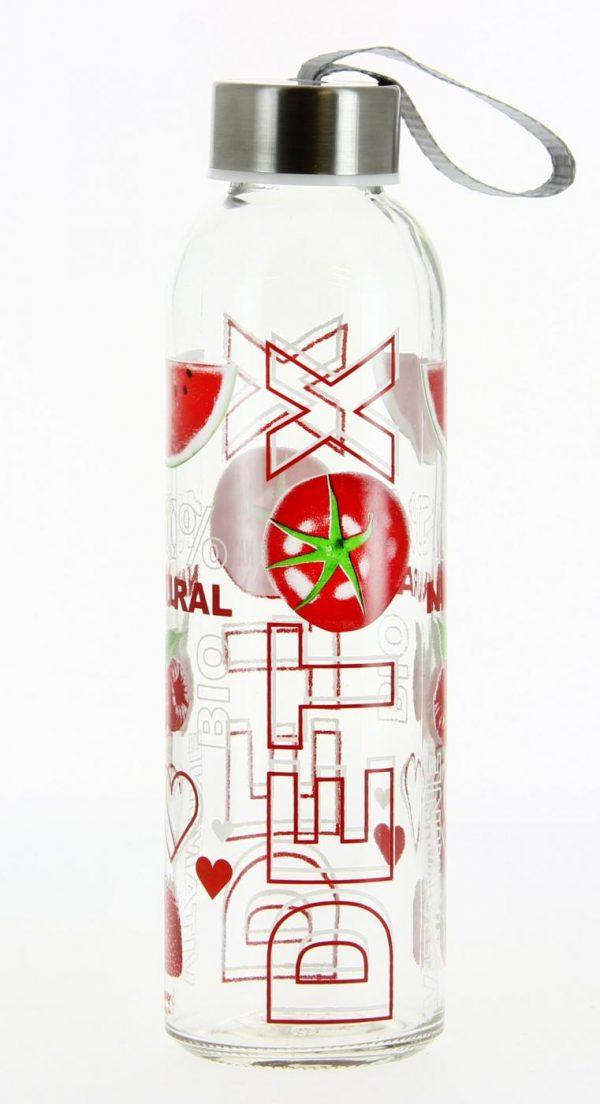 Бутылка для воды Cerve Detox 500 мл Красная (S23370-R)