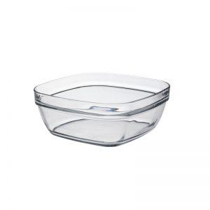 Салатник квадратный Duralex Lys Carre 2 л 20 см (2035AF06A)