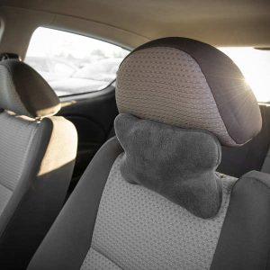 Подушка для путешествий DROM косточка Темно-серый (14001)