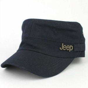 Кепка Jeep Classic Navy Blue синяя (333342)
