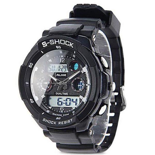 Спортивные водонепроницаемые часы ALIKE S-SHOCK (333387)