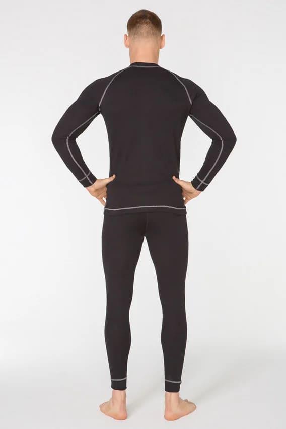 Комплект мужского спортивного термобелья Radical Rock S черный