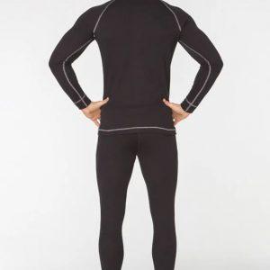 Комплект мужского спортивного термобелья Radical Rock XL черный