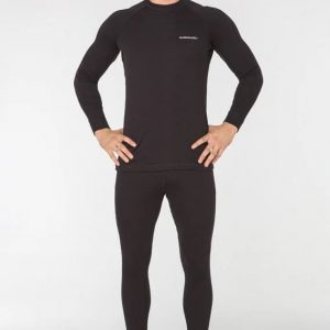 Комплект мужского спортивного термобелья Radical Black Iron S черный