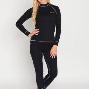 Комплект женского спортивного термобелья Radical Rock M черный