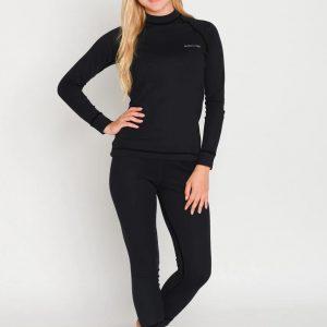 Комплект женского спортивного термобелья Radical Black Iron S черный